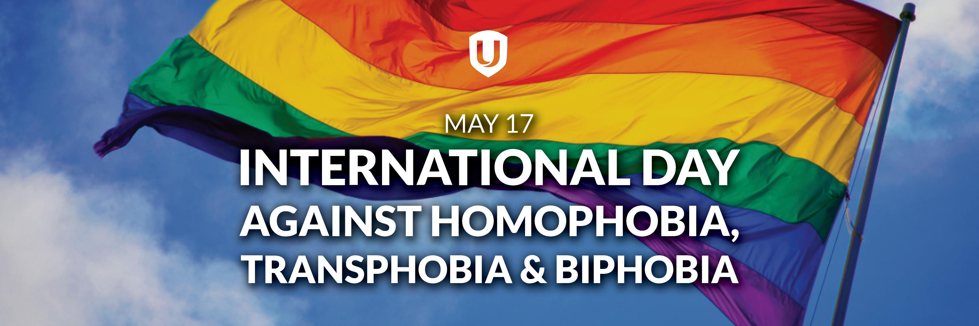 International Day Agains Homophobia, Transphobia and Biphobia